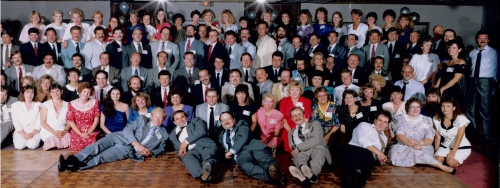 FVHS Class of 1970  20 Year Reunion in 1990